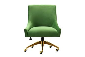 Rosalind Green Velvet Desk Chair