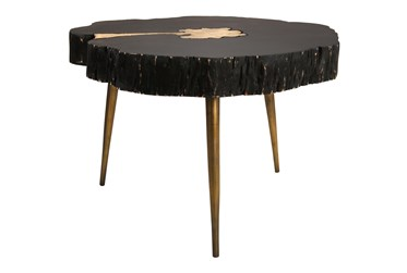 Legna Black Coffee Table