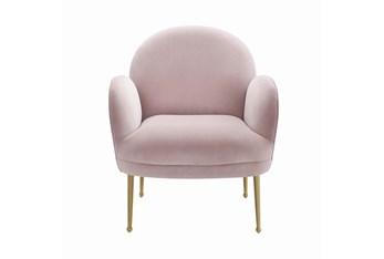 Constance Mauve Velvet Accent Chair