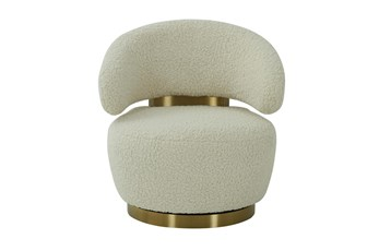 Naomi Faux Shearling Accent Chair
