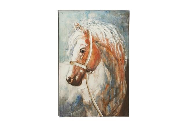 32X47 Horse Head Canvas Wall Art - 360