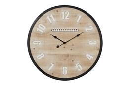 32X32 Multi Color Wood Wall Clock