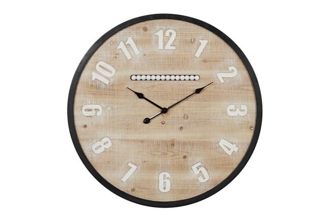 32X32 Multi Color Wood Wall Clock - 360