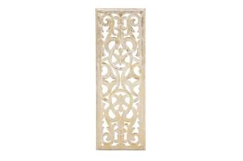 12X36 Gold Wood Wall Decor