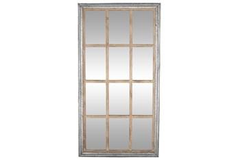 36X68 Brown Glass Wall Mirror