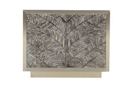 Bone Inlay Palm Print Cabinet