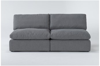 Jil II 2 Piece Armless Apartment Sofa
