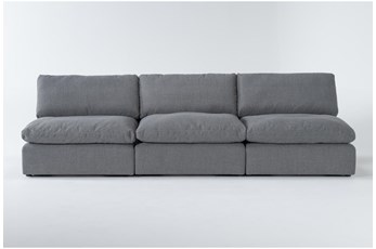 Jil II 3 Piece Armless Sofa