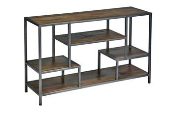 "Interstice 60""  Wide Divider Bookcase/Shelf Unit"