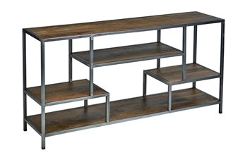 "Interstice 72"" Wide Divider Bookcase/Shelf Unit"