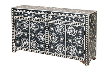 Zamora Bone Inlay Sideboard