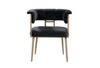 Greta Grey Velvet Dining Chair
