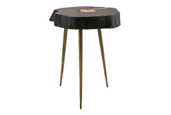 Legna Black End Table
