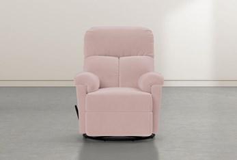 Barden Pink Swivel Glider Recliner