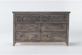Jilian Granite 6 Drawer Dresser