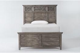 Jilian Granite Full Panel Bed