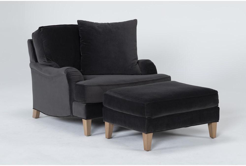 Abigail IV Chair And Ottoman