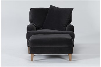 Abigail IV Chair And Ottoman