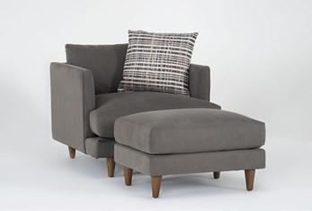 Adeline II Chair And Ottoman