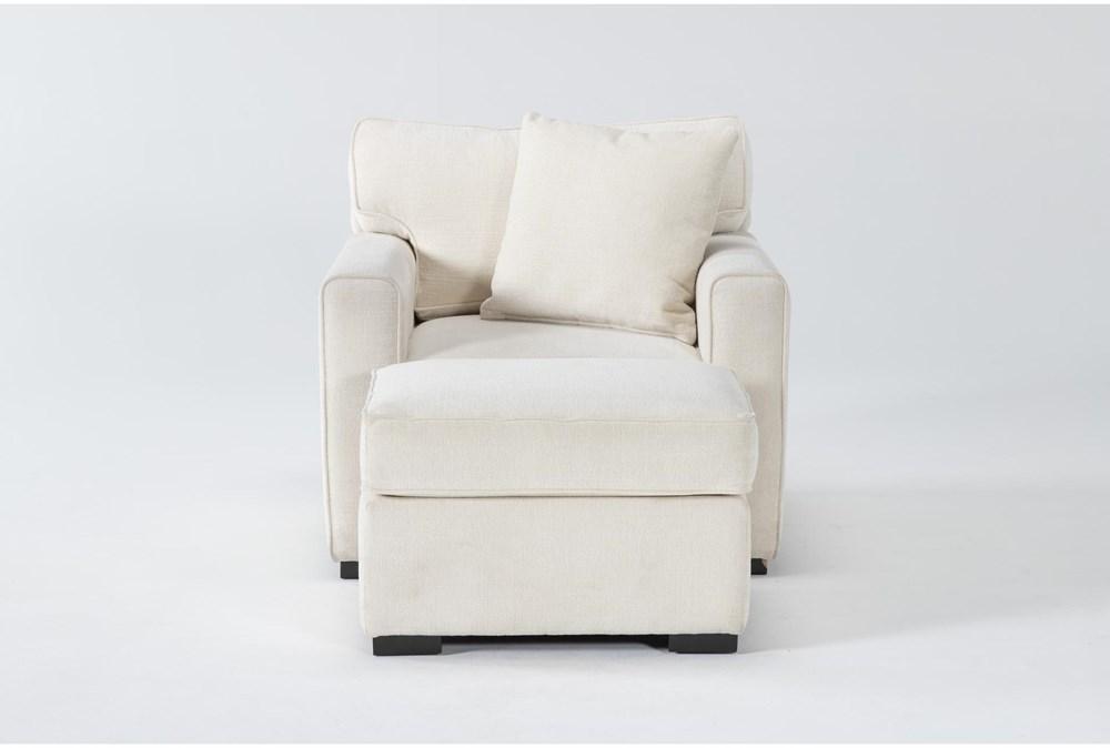 Cypress II Foam Chair And Ottoman