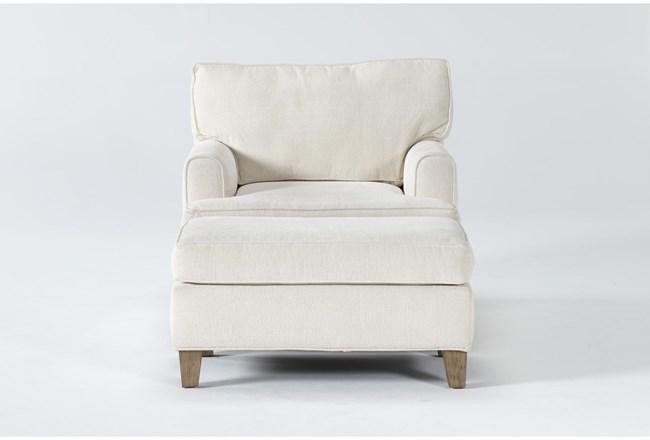 Emerson II Chair And Ottoman - 360