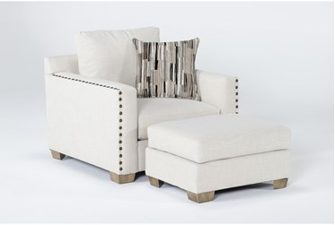Modena Chair And Ottoman