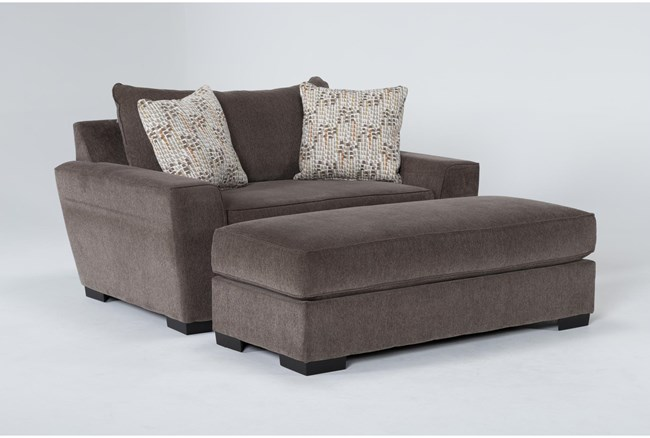Parker II Chair And Ottoman - 360