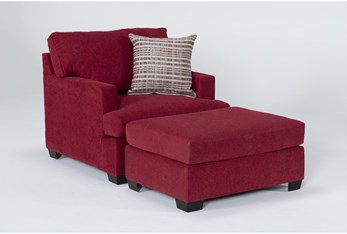 Scott II Chair And Ottoman