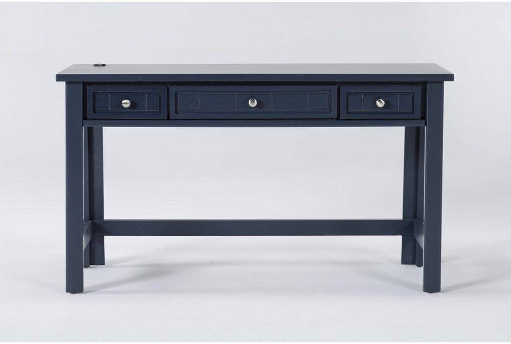 Mateo Blue Desk With USB