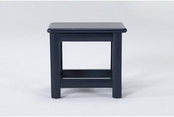 Mateo Blue Desk Chair