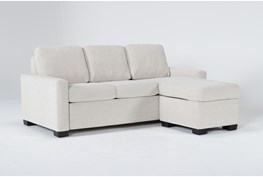 Mackenzie Pearl Queen Plus Sofa Sleeper With Reversible Storage Chaise