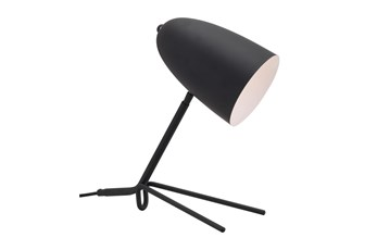15 Inch Black Tripod Base Task Table Lamp