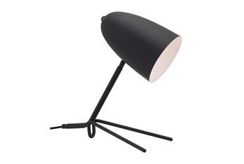 15 Inch Black Tripod Base Task Table Lamp
