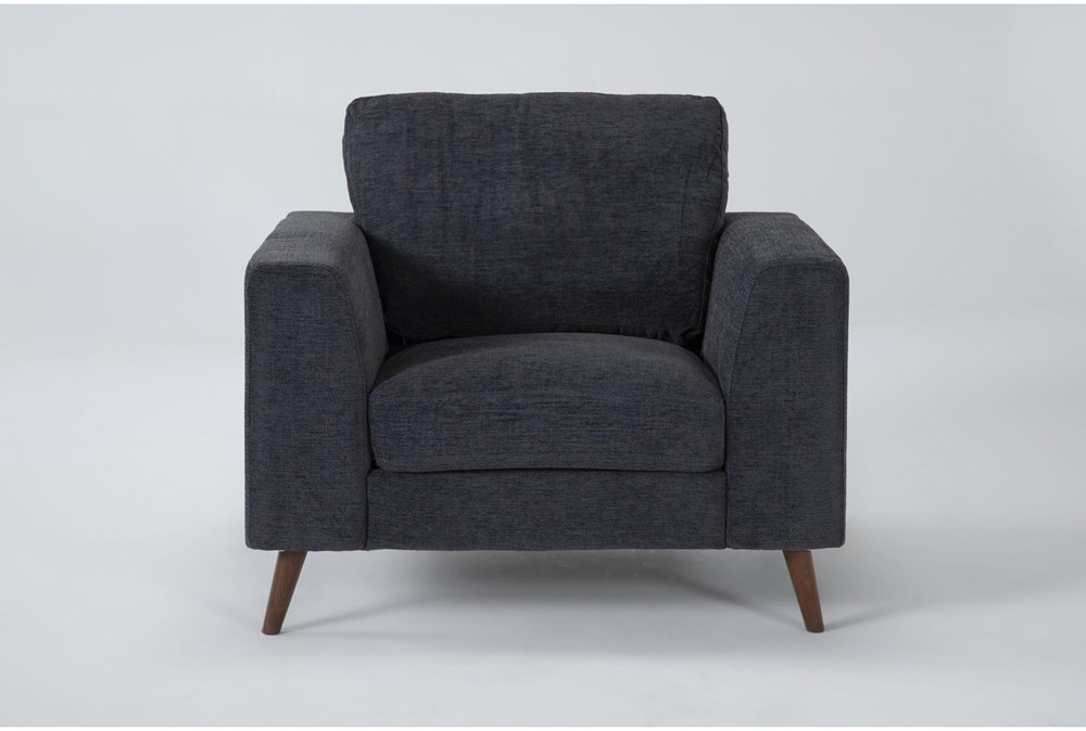 Casper Charcoal Blue Chair