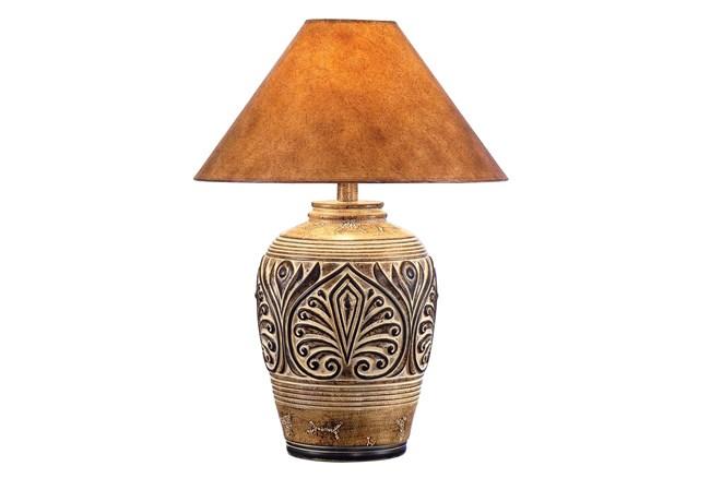 28.75 Inch Desert Sand Table Lamp - 360