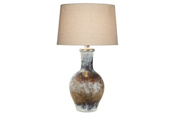 29 Inch Hydrocal Table Lamp