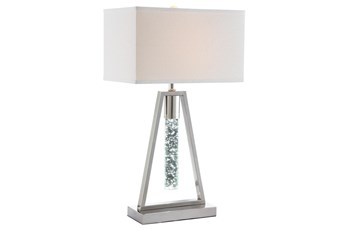 27 Inch W/Icicle Light Table Lamp