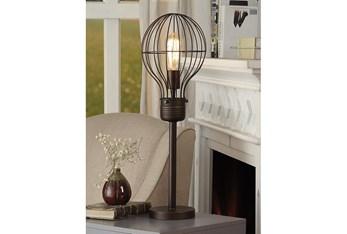 26 Inch Birdcage Bulb Shade Table Lamp