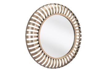 26 Inch Round Gold Mirror