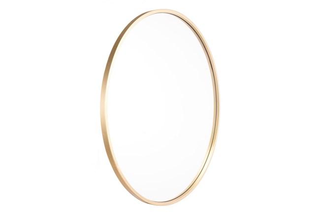 24 Inch Round Eye Mirror Gold - 360