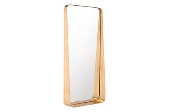 14X30 Tall Gold Mirror