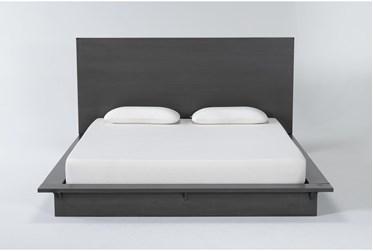 Alor Eastern King Platform Bed + Headboard