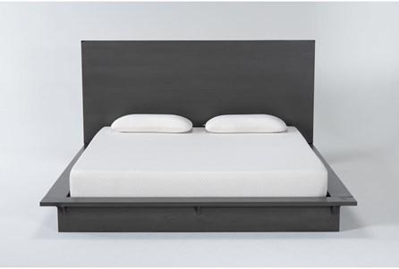 Alor Eastern King Platform Bed + Headboard - Main