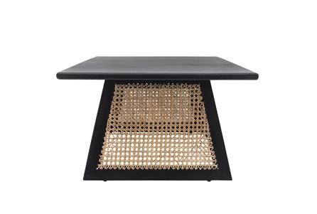 Black + Cane Coffee Table - Main
