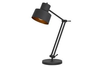 33 Inch Black Metal Task Lamp