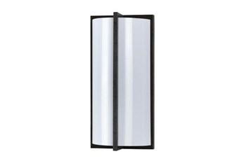 3.5X12 Inch Black Wall Lamp