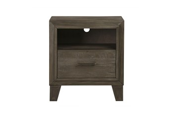 Hadie Nightstand With Usb