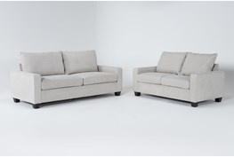 Reid Buff 2 Piece Living Room Set