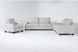 Reid Buff 3 Piece Living Room Set