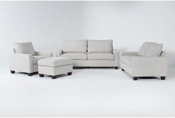 Reid Buff 4 Piece Living Room Set